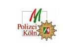 Das Logo von der Polizei in Köln