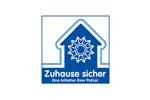 Das Logo von Zuhause sicher