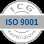 ISO 9001 grau blau ICG 1 150x150 1 - Brandmeldeanlagen Wartung