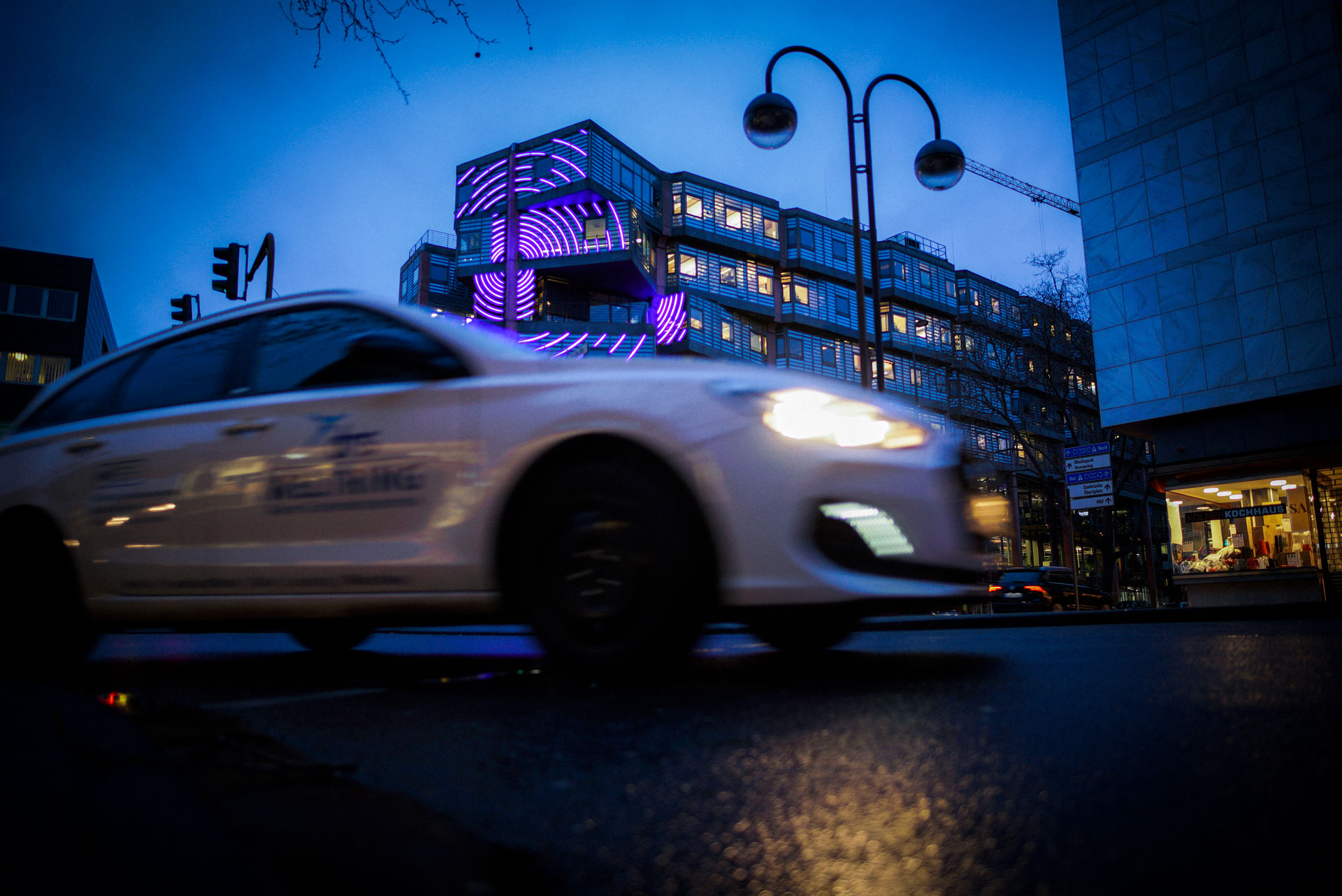 drs Weltring Auto WDR Arkaden 01 - Beratung für Brandmeldeanlagen (BMA)