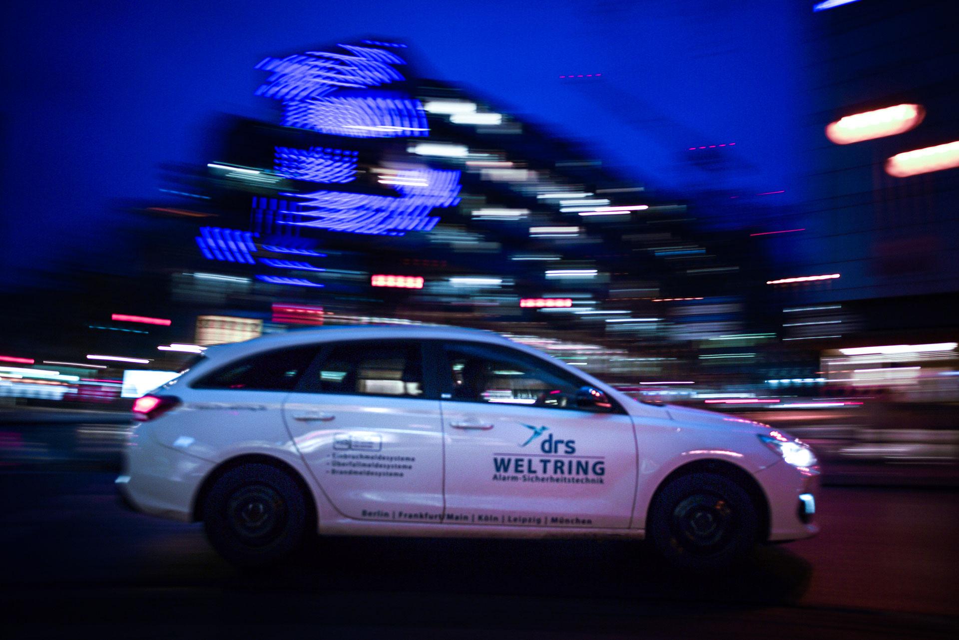 drs Weltring Auto WDR Arkaden 02 - Brandmeldeanlagen für Unternehmen